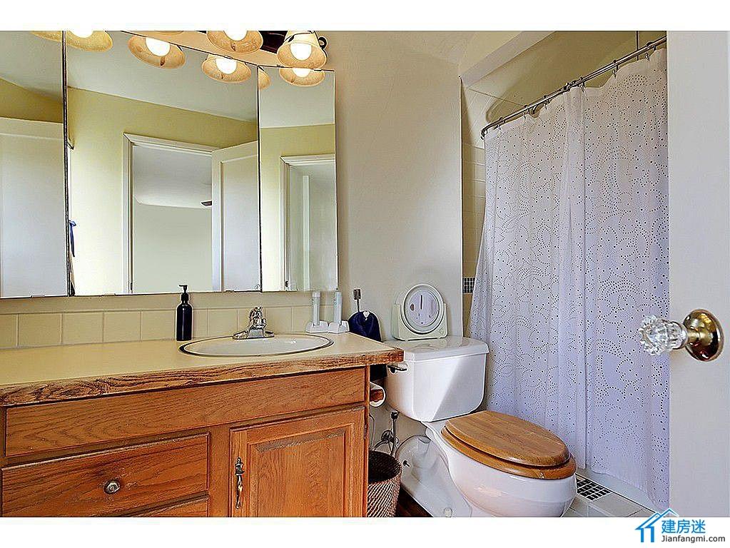 别墅装修效果图之卫生间