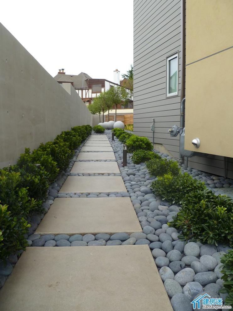 新农村自建房露台以及庭院装修效果图 别墅露台以及庭院装