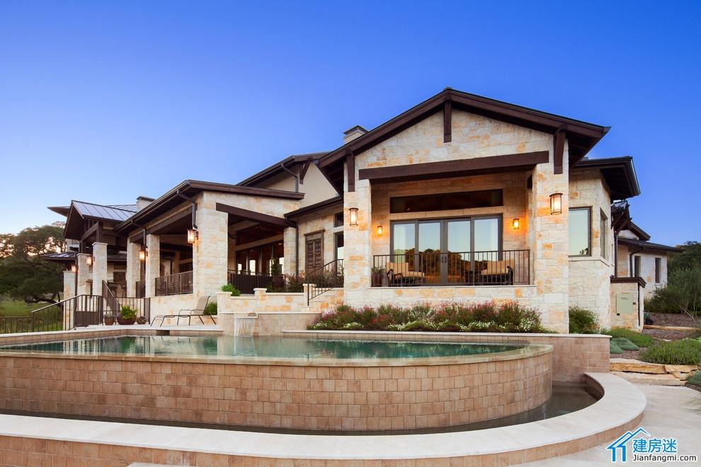 美式田园风格的别墅设计欣赏图片