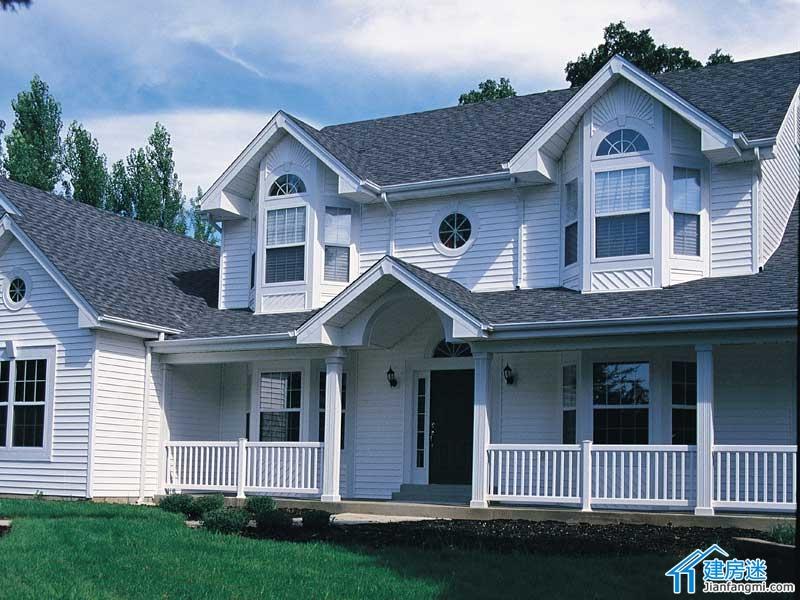 设计图 新农村/400平米宅基地一层半新农村自建房设计图盖房首选