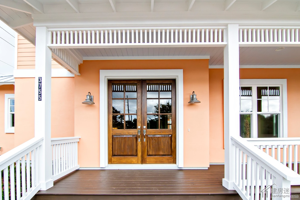 新农村自建房别墅大门效果图,盖子房子大门样式以及材质选择推荐