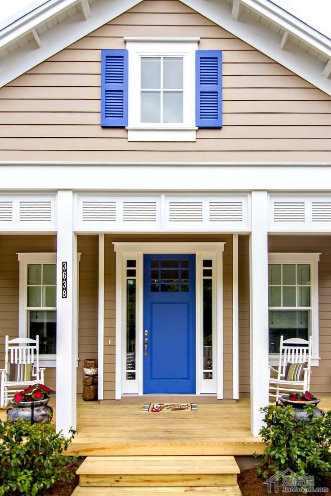 ru房图片各种形状-门效果图,盖子房子大门样式以及材质选择推荐