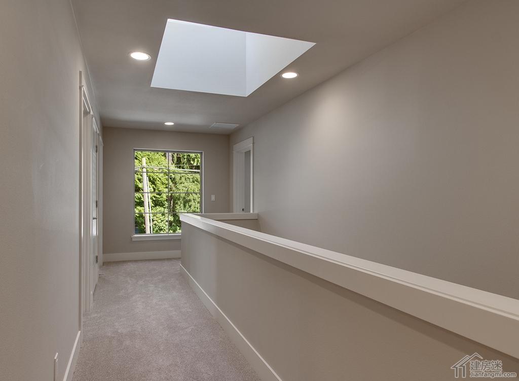 现代简约风格别墅两层三大间四间卧室12米X20米240平米地基房屋设