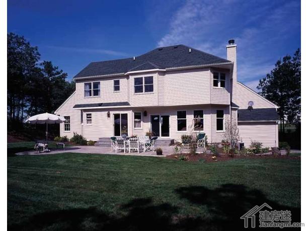 新农村自建房屋设计图20米x15米两层轻钢结构房屋设计