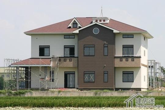 日本h钢结构住宅施工过程钢结构别墅案例-建房迷-最