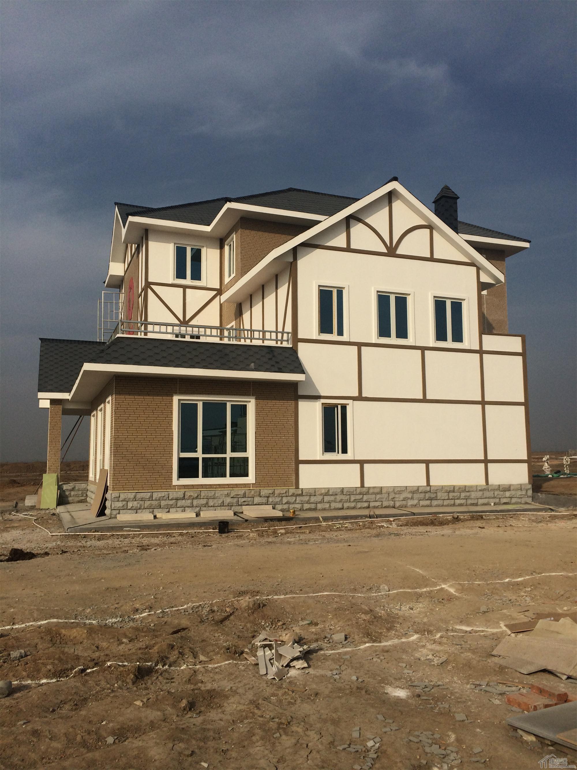 屋有限公司轻钢别墅样板房建设工程案例