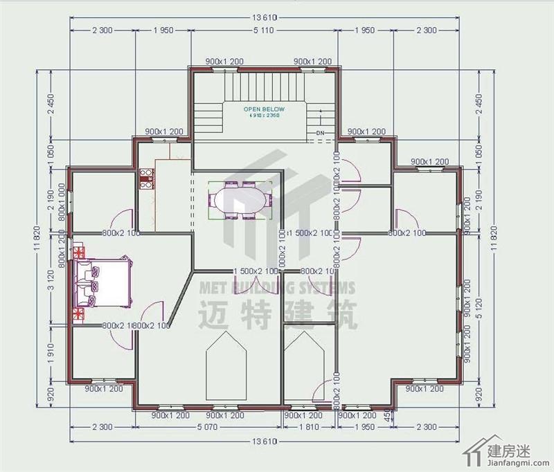 轻钢结构别墅图纸包括平面图,效果图,不断更新中