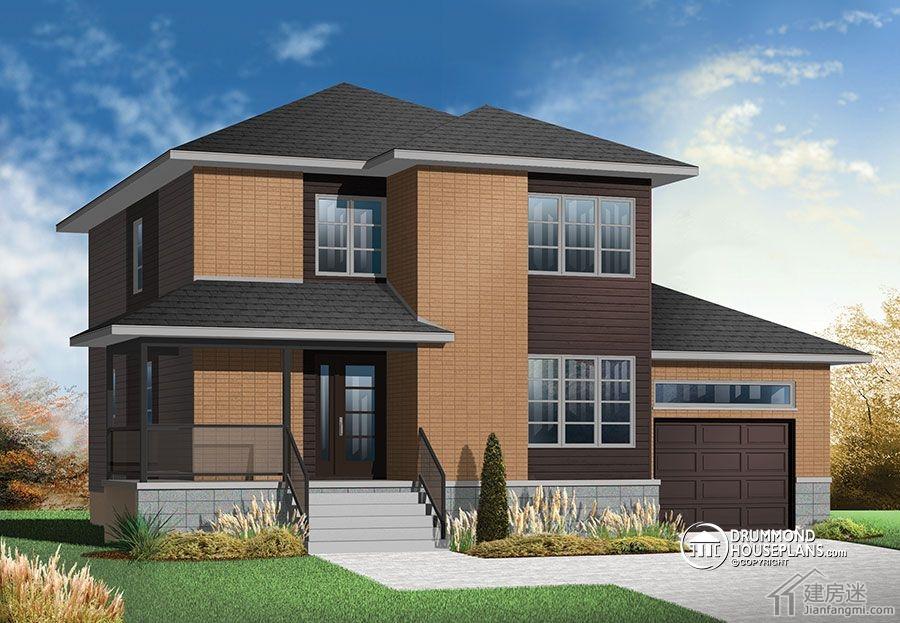 计图120平米两层三大间媲美新农村住宅图集精选
