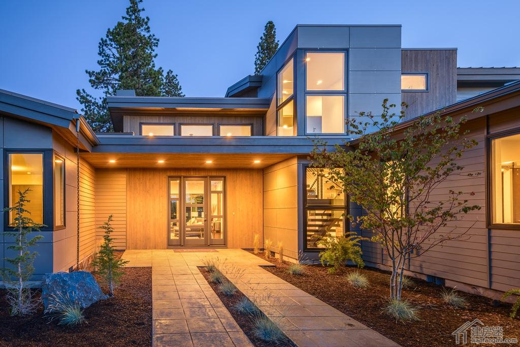 69 房屋设计图 69 280平米农村自建超现代风格大平层别墅户型图免