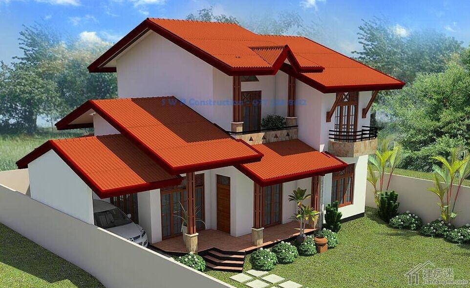 格两层经济型小别墅设计图自建房10米X10米100平米参考