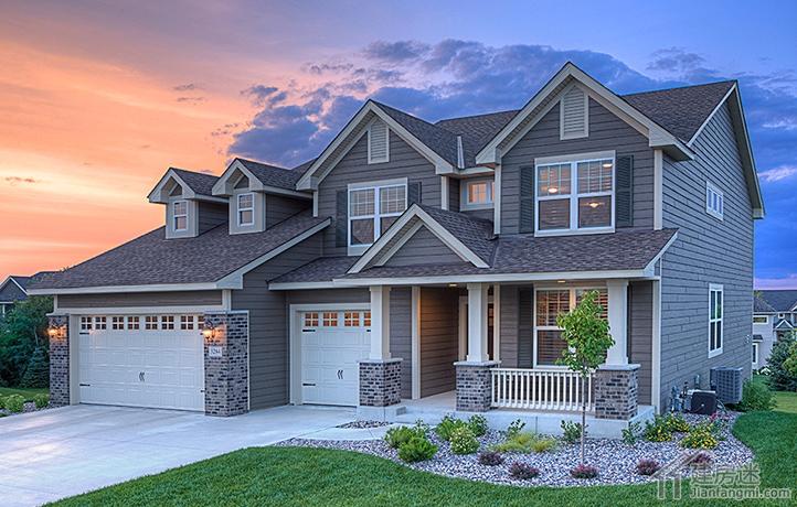 新农村自建房15米x10米两层带地下室轻钢结构房屋设计