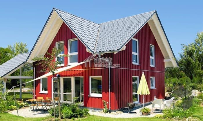 自建度假小户型经济别墅9米X9米80平米两层房屋设计图