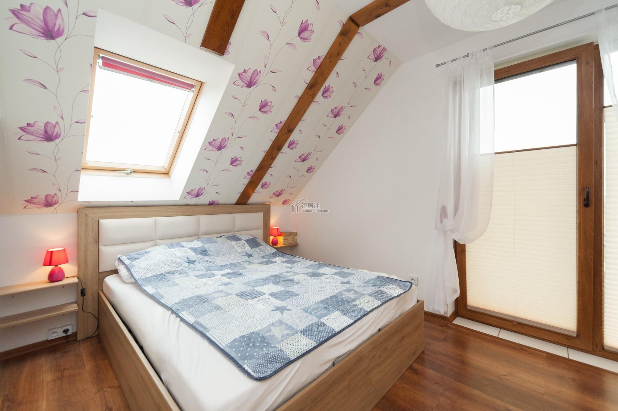 农村度假别墅设计图9米X9米二层80平米小户型简单盖房图纸