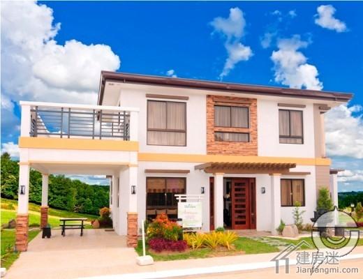 140平米农村自建房10米x8米两层小户型经济型别墅设计
